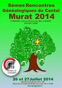 Affiche Murat 2014
